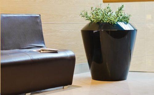 planter for interiors and gardens