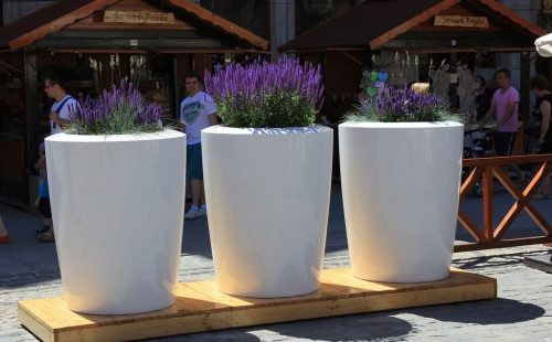 extra large commercial flower pots
