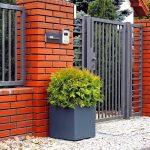 garden flowerpots made of polymer concrete