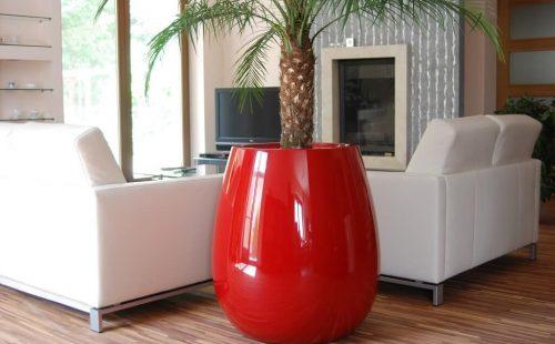large residential planter