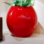 outdoor and indoor flower pot