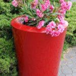planter to garden and terrace
