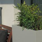 large rectangular outdoor planter