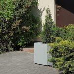 square polymer concrete planter