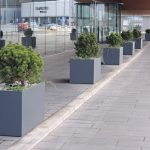 large planters to commercial use