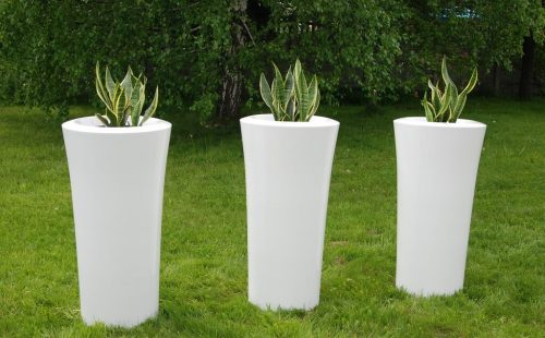 planters to garden and for terrace